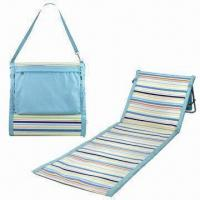 Wholesale Outdoor PP Beach Mat/Chair, Waterproof, Foldable, Available in Various Designs from china suppliers
