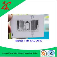 Wholesale ISO18000-6C UHF RFID Tag UHF RFID Woven Label For Clothing 860 - 960mhz from china suppliers