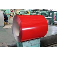 Quality Galvalume Steel Sheet Prepainted Steel Coil Red Color For Corrugated Tile for sale