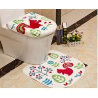 Wholesale Strong water absorption comfortable customized multi coloured bath mat sets from china suppliers