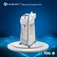 Wholesale 808 nm Diode Underarm Laser Hair Removal Machine With Big Spot , Headpiece Cooling from china suppliers