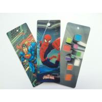 Wholesale PET 3D Lenticular Personalized Book Marks With CMYK Printing 0.65 mm Thick from china suppliers