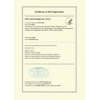 Jinan Link Manufacture & Trading Co.,ltd Certifications