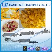 Wholesale Stainless steel corn flakes twin screw extruder machinery in india from china suppliers