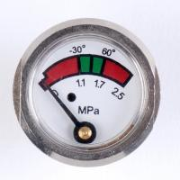 Wholesale Chrome Plated Pressure Gauge Manometer , Brass Fire Extinguisher Components from china suppliers