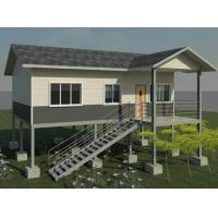Wholesale Modern Structure Building Green 3 Bedroom Modular Homes Light Steel Villa from china suppliers