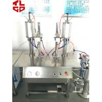 Wholesale Butane Fuel Cartridge Refilling Machines, Cartridge LPG Gas Filling Equipments Semi Automatic from china suppliers
