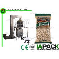 Wholesale Pistachio Nuts Packaging Machine , Vertical Form Fill Sealing Machine from china suppliers