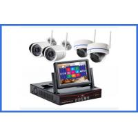 Wholesale Custom Wireless CCTV Camera Kits 4 Channel MP Indoor / Outdoor Cameras from china suppliers