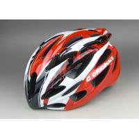 Wholesale Super Cool  PC Inmould Bicycle Helmet Cycling Red Black , Matt Or Shinny Finishing Available from china suppliers