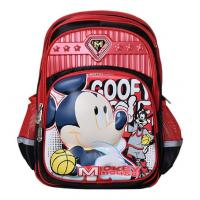 Wholesale Original Disney Mickey Mouse and Minnie Mouse Backpack Kid's School Bag from china suppliers