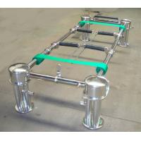 Wholesale Metal Casket Coffin Lowering Device Stand , Coffin Hardware from china suppliers