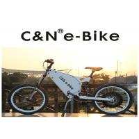 Wholesale Lithium Battery Electric Motor Mountain Bike , High Speed Cruise Distance E Bike from china suppliers