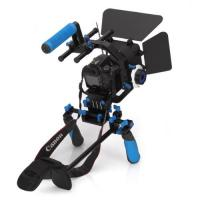Wholesale Dslr rig movie kit with shoulder mount+Follow Focus+Matte Box+C Shape Support Cage from china suppliers