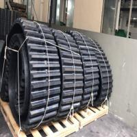 Wholesale Rubber Track Rubber Crawler  (800*150*68) for Ld1000 (MITSUBISHI) Dumper from china suppliers