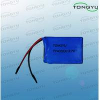 Wholesale 3.7V 180mAh Rechargeable Lithium Batteries Ultra Thin For MP3 from china suppliers