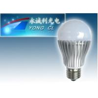 Quality 5W 190 Degree E27 LED Bulb Light CW2800-3200K for sale