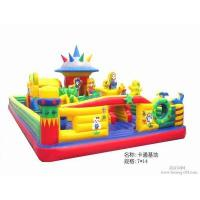 Wholesale 6 * 6M Huge castle inflatable garden toys / fun games for Children from china suppliers