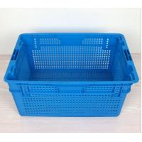Wholesale Plastic Nestable and stackable mesh crate 630*420*315 mm from china suppliers