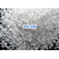 Wholesale Bonded Abrasives White Fused Alumina , Sandblast Aluminum Oxide Abrasive Media from china suppliers