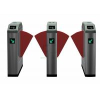 Buy cheap Electronic High Speed Flap Barrier Gate /  Pedestrian Turnstiles from wholesalers