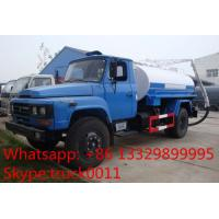 Wholesale hot sale best price dongfeng140 long head sewage suction truck, dongfeng 4*2 5cbm vacuum sludge tank truck for sale from china suppliers