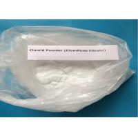 Wholesale 99% Purity Clomifene Citrate / Raw Hormone Powders White Crystalline CAS 50-41-9 from china suppliers