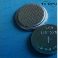 Wholesale 3.6V Lithium Coin Cell Battery , 12mAh Li-on Button Battery LIR1220 for Gift, Toy from china suppliers