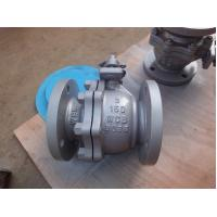 Quality Full Bore Flanged Ball Valve , Floating ANSI 150 LB High Temperature Ball Valves for sale