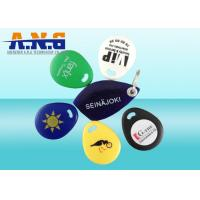 Wholesale Eco - Friendly 125KHz RFID Key Fob IP 64 Waterproof , ABS Material Rfid Key Tag from china suppliers
