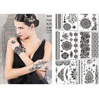 Wholesale Sexy Body Black And White Tattoo Stickers , Long Lasting Fake Tattoos Stickers from china suppliers