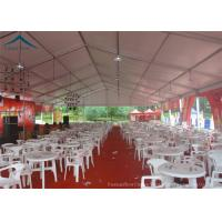 Wholesale Customized Size Commeicial Outdoor Party Tents For Beer Festival Event , Aluminium Structure Tent from china suppliers