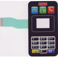 Wholesale Matte PC PVC LED Membrane Switch Keypad For Mobile Phone , Industrial Control from china suppliers