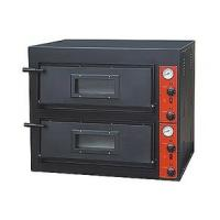 Wholesale Black Painting Electric Pizza Baking Oven With 2 Layer 2 Tray 910x820x750mm from china suppliers