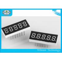 Wholesale 0.23 Inch Height LED 7 Segment Display 5 Digit For Communication / Instruments from china suppliers
