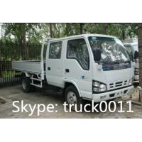Wholesale ISUZU LHD twin cab mini cargo truck for sale from china suppliers