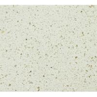 Wholesale Luoduoweike White custom quartz countertops / tiles / vanity tops Flat , Eased Edge from china suppliers