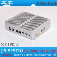 Wholesale 2015 New Product Broadwell Intel Core i5 5257u Fanless Mini PC Windows Turbo 3.1G Iris HD from china suppliers