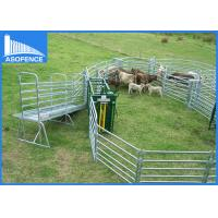 Wholesale Portable Temporary Cattle Yard Panel With Hot Dip Galvanization 1800*2100mm from china suppliers