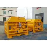 Wholesale High Performance Large Capacity SICOMA Twin Shaft Concrete Mixer from china suppliers