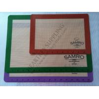 Wholesale Transparent Silicone Mat with Logo Custom Printing for Oven Cake Baking from china suppliers