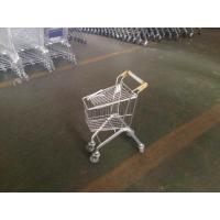 Wholesale Metal Children kids Shopping Cart  with customized handle logo , kids grocery cart from china suppliers