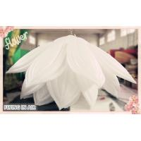 Wholesale 6m*3m White Inflatable Flower with Multiple Petals for Event Decoration from china suppliers