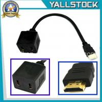 Wholesale HDMI Male to 2x HDMI Female Y Splitter Adapter Cable NR -CL045 from china suppliers