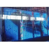 Wholesale HD Full Color Programmable  Flexible LED Display W 8 x H 64 dots from china suppliers