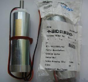 China Heiderlberg geared motor #61.144.1101.12V on sale