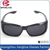 Wholesale Waterproof Dark Smoke Lens Fits Over Sunglasses Anti Glare Polarized CE Standard from china suppliers