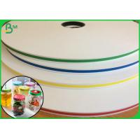 Buy cheap 60g Degradable Colour Slit Paper Roll With 3 Inch Core Radius from wholesalers