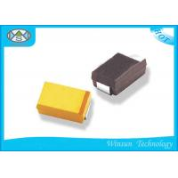 Wholesale 2.5v - 50v Chip Tantalum Capacitor , Tantalum SMD Capacitor Case A For Instrument from china suppliers