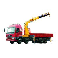 Wholesale Durable Mobile 12T Knuckle Boom Truck Crane For Landscrape Jobs from china suppliers